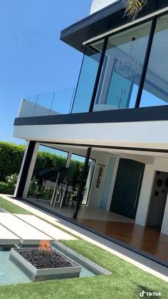 1420 Laurel Way - - Architecture Mansion Interior, Dream House Interior, Design Your Dream House, Luxury Homes Dream Houses, House Front Design, Small House Design, Home Interior Design, Modern Exterior House Designs, Modern Villa Design