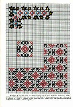 Cross Stitch Borders, Simple Cross Stitch, Cross Stitch Flowers, Cross Stitch Designs, Cross Stitch Patterns, Beaded Embroidery, Cross Stitch Embroidery, Embroidery Patterns, Ribbon Embroidery