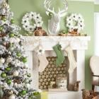 48 Gorgeous Holiday Mantel Decorating Ideas | Midwest Living
