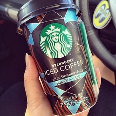 Iced Coffee With Summer Jelly (Japan) | 20 Starbucks Items You Can't Get In The U.S.