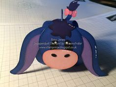 Hello and welcome back to another Curvy Keepsake Wednesday.... This week I have an Eyore Curvy Keepsake Box to share with you..... It was...