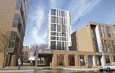 Social Housing, Modern Buildings, Urban Design, Willis Tower, Skyscraper, Multi Story Building, Loft, Exterior, Architecture