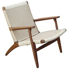 1950's Hans Wegner for Carl Hansen & Son CH-25 Lounge Chair