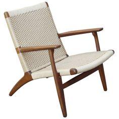 1950's Hans Wegner for Carl Hansen & Son CH-25 Lounge Chair