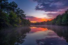 Misty Lake at Sunset After Storm in Jupiter.   Photo courtesy of Kim Seng | CaptainKimo.com