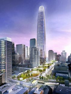 Transbay Tower | 326 M | 1070 FT | San Francisco