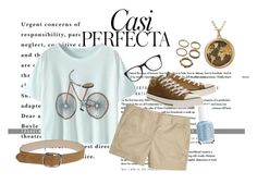 """Perfecta... Casi"" by laura-rathbone on Polyvore featuring Whiteley, Converse, J.Crew, Forever 21, Carrera and Essie"
