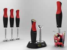 With the Smart Embossed Blender you can feel how smooth or rough your ingredients are while you are blending.