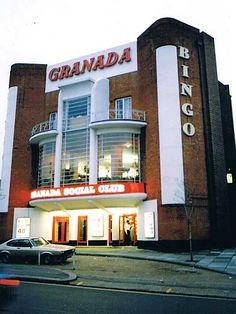 The Granada Tooting London Once A Cinema Now A Bingo Hall Great Britain Dump