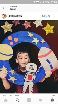 61 ideas outer space art projects for kids birthday parties Vbs Crafts, Space Crafts, Projects For Kids, Art Projects, Space Classroom, Outer Space Party, Space Activities, Art N Craft, Space And Astronomy
