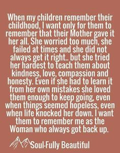 A Tribute to Single Moms: Quotes about Single Moms Being Strong