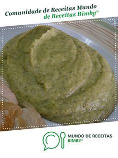 Puré de batata doce e brócolos de Anita Cruz. Receita Bimby<sup>®</sup> na categoria Acompanhamentos do www.mundodereceitasbimby.com.pt, A Comunidade de Receitas Bimby<sup>®</sup>.