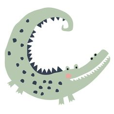 Fin and poppy crocodile or alligator? Number 1 child illustration Source by tubbb Crocodile Illustration, Children's Book Illustration, Character Illustration, Tableaux D'inspiration, Pottery Painting Designs, Safari Animals, Watercolor Animals, Kids Prints, Art Lessons