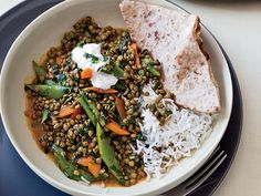 Green-Lentil Curry | Food & Wine goes way beyond mere eating and drinking. We're on a mission to find the most exciting places, new experiences, emerging trends and sensations.
