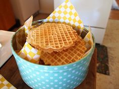 Cheese pizzelles add pepper, onion powder, parm and cheddar PC024843 by Kate Koeppel Design, via Flickr