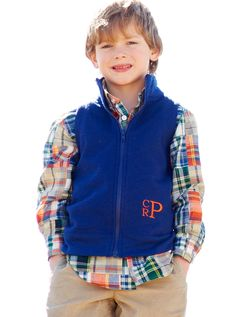 FAll/ Thanksgiving Vest and button down for the boys
