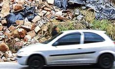 Deslizamentos de terra preocupam moradores de São Bernardo e Mauá