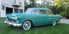 Plane Jane Tri-Five: 1955 Chevrolet 210 1955 Chevy, 1955 Chevrolet, First Time Driver, Car Signs, Best Barns, Classic Sports Cars, Chicago Restaurants, Barn Finds, Old Trucks