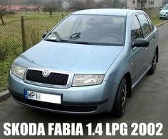 SKODA FABIA 1.4 MPI 8V benzyna + GAZ rok 2002 ŁADNA Skoda Fabia Sedan 14...