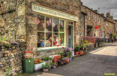 Milkchurn Cottage Interiors, Hawes, Wensleydale. North Yorkshire England