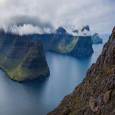 Faroe Islands | Photography by Paul Zizka (@paulzizkaphoto) #EarthOfficial by earthofficial