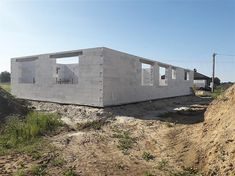 Projekt domu Kordian Rex - murowana – beton komórkowy 124,6 m2 - koszt budowy - EXTRADOM House Plans, Shed, Outdoor Structures, Home, Blueprints For Homes, Lean To Shed, House, Ad Home, Coops
