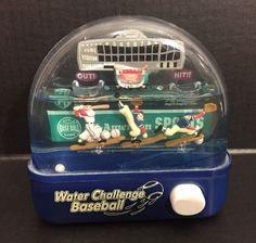 Vintage Baseball Handheld Pinball Water Challenge Executive Desk Toy Gag Gift #Penny