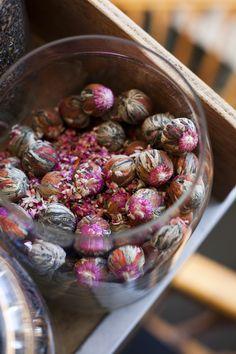blooming (flowering) tea balls #chinesetea #中国茶