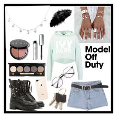 """Model Off Duty"" by drewbieber94 ❤ liked on Polyvore featuring RED Valentino, Ivy Park and Bobbi Brown Cosmetics"
