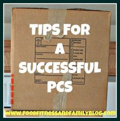 Tips For A Successful PCS Move....we had a great one before... hope they always go that smooth
