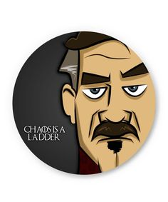 Chaos is a Ladder   Peter Baelish Game Of Thrones Fridge Magnet