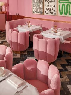 India Mahdavi, Virtuoso of Color The New Yorker letter m color pink - Pink Things