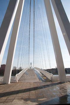 walk and bicycle way bridge