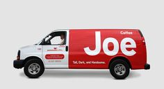 Visit the post for more. Vehicle Signage, Vehicle Branding, Van Signage, Joe Coffee, Van Wrap, Food Truck Design, Car Signs, Van Design, Coffee Truck