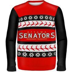 Ottawa Senators One Too Many Ugly Sweater National Hockey League, Ice Hockey, Ugly Sweater, Ottawa, Hoodies, Sweatshirts, Being Ugly, Nhl, Christmas Sweaters