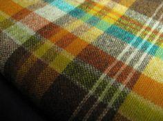 Plaid Vintage Wool