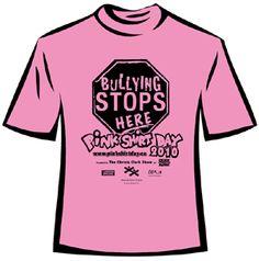 Bullying is not cool yo. @Pinkshirtday