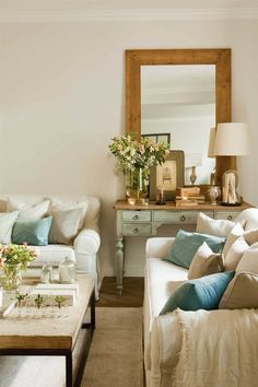 Home Decoration Cheap Ideas Info: 5657967794 Beige Living Rooms, New Living Room, Home And Living, Living Room Inspiration, Home Decor Inspiration, Best Home Interior Design, Piece A Vivre, Home Staging, Furniture Makeover