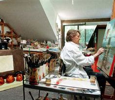 Ashland painter Nancy Camden Witt dies