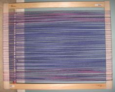 Instructions for building a frame loom using stretcher bars