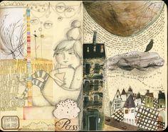 Teesha Moore: Change of Play - Moleskine Art Journal