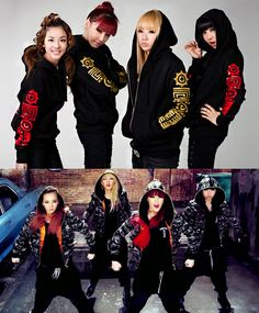 "2NE1 ""Clap Your Hands"" 