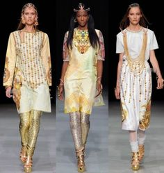 ancient Egypt inspired fashion
