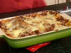 Emeril's Lasagna Recipe : Emeril Lagasse : Food Network..This is the only lasagna we make....there is never ever leftovers as everyone loves loves loves it...makes a huge pan...oh my...John does a great job with one...