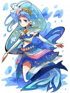 princess precure cure mermaid