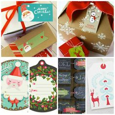 Put a Tag On It: 15 Free Printable Christmas Gift Tags