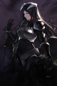 Your favourite Yandere Albedo from Overlord. Read my thoughts on the anime here… Albedo, Anime Sexy, Anime Love, Manga Drawing, Manga Art, Manga Anime, Fantasy Characters, Female Characters, Anime Characters