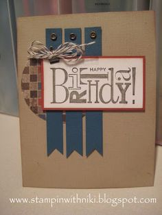 very cute card by my friend and fellow SU demo - Lorraine Toll http://www.lorrainesstampincorner.blogspot.com/