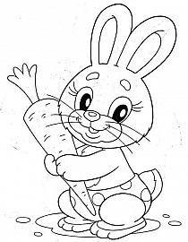Desenho De Pascoa Para Imprimir E Colorir Coloring Pages Ostern