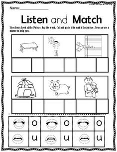 CVC Word Work (Dyslexia/RTI) Level 1 Unit 2 by Smart and Special Teaching Dyslexia Activities, Sensory Activities, Nonsense Words, Cvc Words, Cvc Worksheets, Wilson Reading, Short O, Gillingham, Struggling Readers